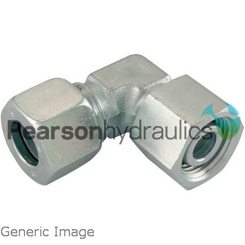 Metric Compression Swivel Elbow