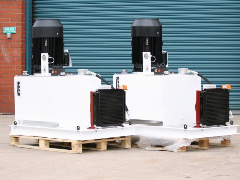 Pair of 22KW Power Units for Mining Industry