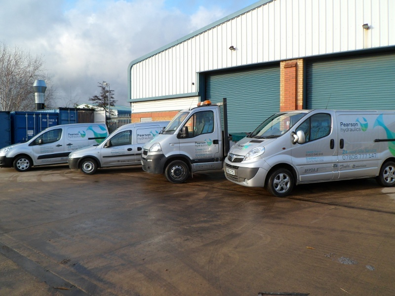 Pearson Hydraulics Vehicles