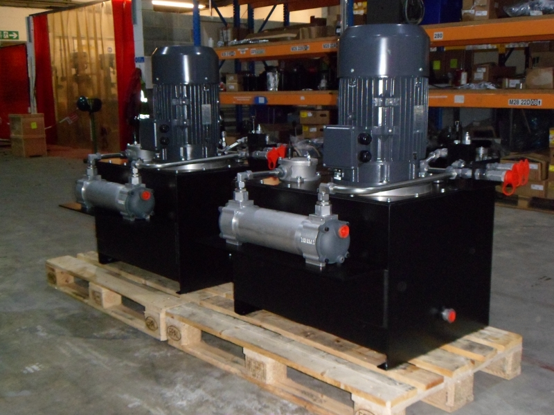Custom Designed Hydraulic Power Units for Fatigue Test Rig