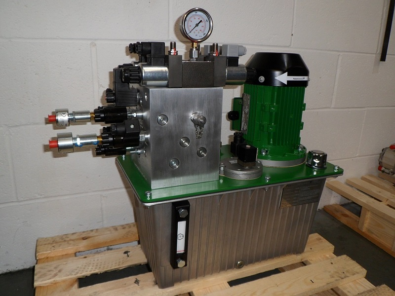Hydraulic power unit for machine tool press