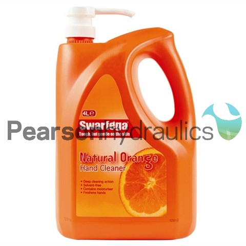 Swarfega Orange Hand Cleaner 4LTR Pump