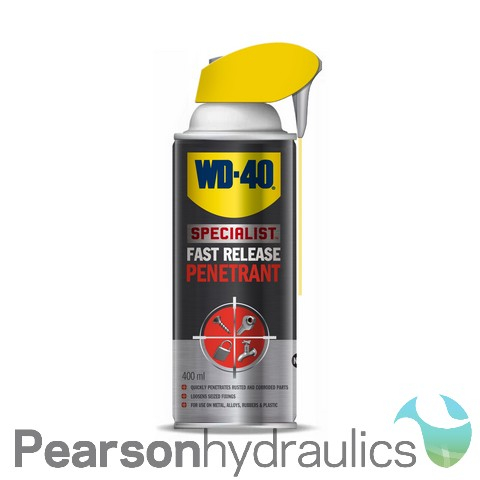 WD40 Fast Release Penetrant 400ML Smartstraw Can