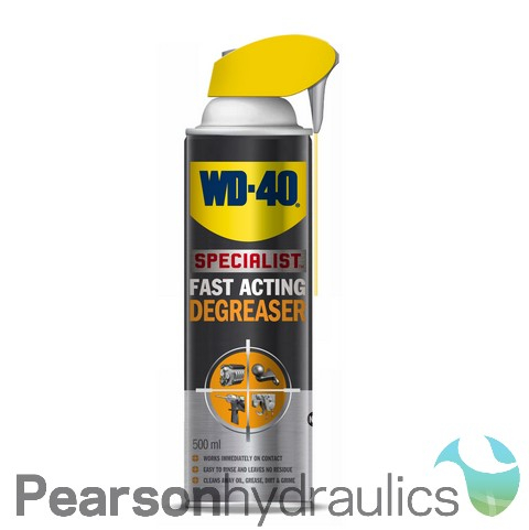 WD40 Fast Acting Degreaser 500ML Smartstraw Can