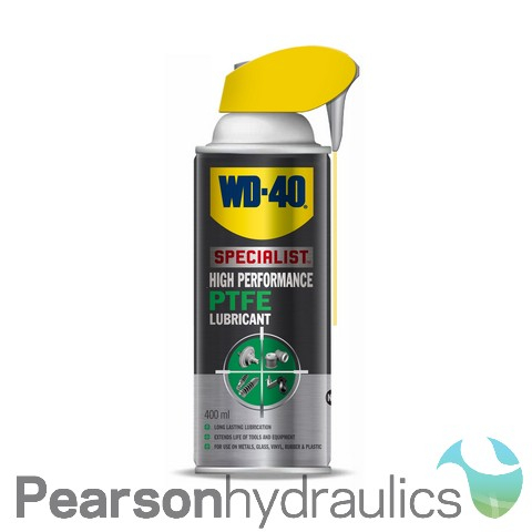 WD40 High Performance PTFE Lubricant 400ML Smartstraw Can